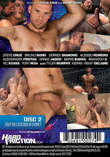 Hard Friction 2 HF2 (DVD 2) Cover Front
