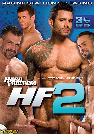 Hard Friction 2 HF2 (DVD 1) Cover Front