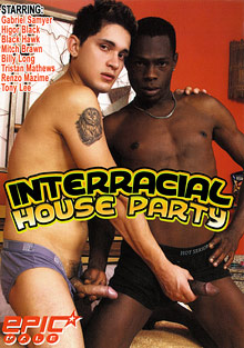 Interracial House Party