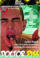 Join Julien Heath and eleven hot twinks at the mercy of the world's cruelest doctor... Doctor Piss.