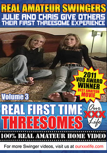 Homemade Couples : true 1-st Time Threesomes 3!