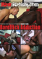 In director Marco Paris' latest DVD Bareback Addiction, all the Latino bottoms crave huge raw black meat that rips through their begging little holes and then spews out white hot cum onto their faces and into their thirsty mouths. Robby Mendez is stretched to the limit as Kacorot's amazingly thick cock pounds him into painful, but delightful, submission. Lil Papi gets plowed by two dark lovers Slim and his pal LO. Then muscle man Marco Cruise endures an asshole assault by Black Desire. Lil Papi's only desire is for Tyson to tear through his juicy butthole with full power. And finally Robby Mendez is schooled by the Ass Professor. Robby learns the hard lesson, but not before he has to be crammed for the test.