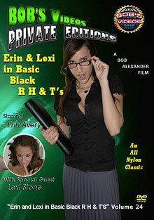 Bob's Videos Private Editions 24: Erin And Lexi In Basic Black R H And T's