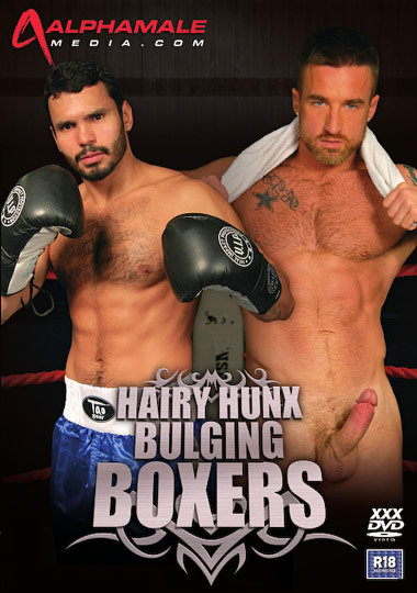 Hairy Hunx Bulging Boxers Cover Front