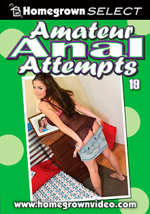 Amateur Anal Attempts 19 cover