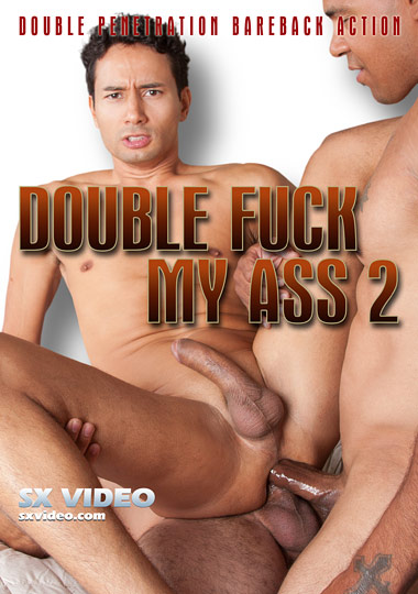 Double Fuck My Ass 2 Cover Front