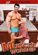 I love nothing more than a huge hunk of muscle stud towering over me while I provide full attention to pleasuring him. Featuring legend Zeb Atlas (in his first ever gay porn movie) as well as muscle studs John Magnum, Tyler Hunt and Cody Cruz. Watch me lick, rim, suck, stroke and play with every inch of their amazing muscled bods. They all return the favor by fucking my face and shooting big loads for me.