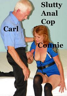 Slutty Anal Cop