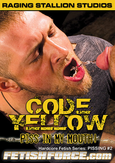 Pissing 2 Code Yellow Piss in My Mouth Front Cover