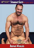 Everyone is familiar with the term Gay for Pay, but we've turned the tables and brought in one of the biggest names in gay porn, Arpad Miklos to do a Straight for Pay scene. You heard us right. Buff, hairy, hunky and 100% gay Arpad is taking a walk on the wild side with busty blonde Holly Heart. If he's nervous you certainly can't tell. He takes to fucking a girl like a duck to water. Holly gets the ride of her life from our big boy. Did we convert him? HELL no... but there's no doubt he had a great time experimenting.