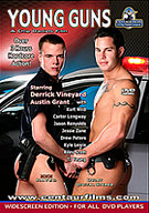 The film begins during a ride along by a cameraman with rookie LAPD Officer Ford, played by Austin Grant. 22 year-old Austin is tall, smooth and extremely handsome, with a perfect swimmer's build, great ass and a gorgeous supercock just made for conquering hot tight bad asses! Officer Ford is patrolling a neighborhood in an unmarked police car when dispatch alerts him to a possible residential break-in nearby. Responding to the scene, an upscale, vacant house for sale, he finds the front door open and a screw driver on the ground. Drawing his weapon, he proceeds inside to investigate.
