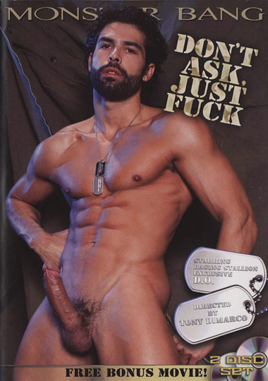 Dont Ask Just Fuck Cover Front
