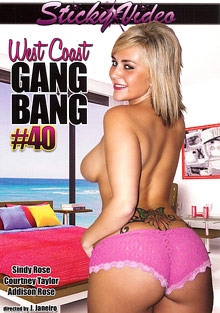 West Coast Gang Bang 40 cover