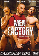In the abandoned Men Factory the fuck machines are running hot! In the halls the scent of decades of sweat from hardworking men still hangs in the air. It's nothing but pure sex for star Fred Faurtin who is fascinated exploring the building. He stumbles into a sex adventure that he can only survive through the grandiose use of his hammer-hard cock.