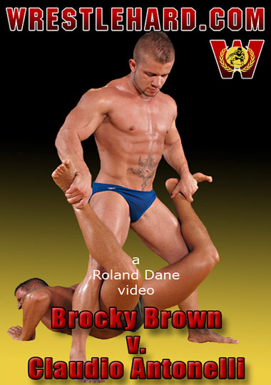 Brocky Brown V. Claudio Antonelli cover