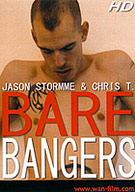 Horny U.K. fuckers Jason Stormme and Chris T. give us raw footage during their recent steamy photoshoot. After an intense rim-n-suck session, Jason craves Chris' lengthy tool deep inside his wet manpussy. Chris jumps at the chance to pound Jason's greedy ass every which way, until ball-busting loads fill hungry holes.