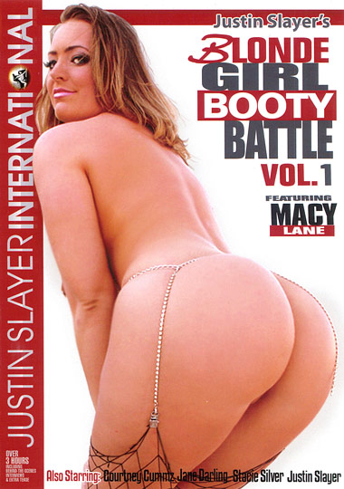 Blonde Girl Booty Battle cover