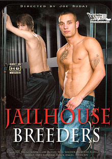 Gay Orgy GroupSex : Jailhouse Breeders!