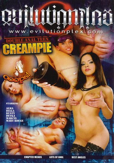 Double Anal Teen Creampie
