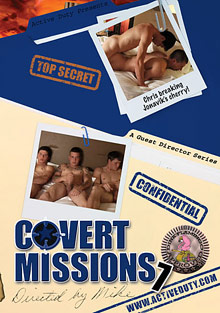 Gay Military Soldiers : Covert Missions 7!