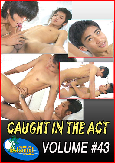 Caught In The Act 43 cover