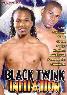 Black Twink Initiation