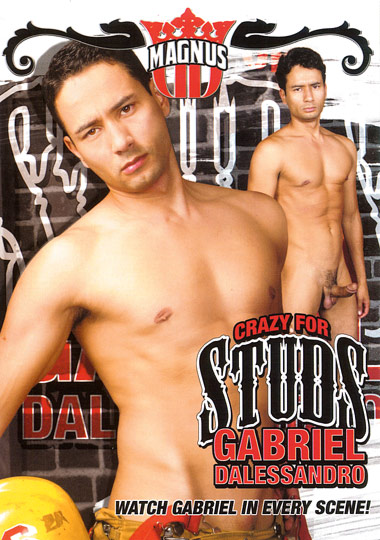 Crazy For Studs: Gabriel Dalessandro cover