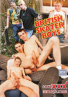 Testosterone is pumping after a hot and sweaty skateboarding session, and these 11 hot British skater boys take any opportunity to stuff their big young dicks inside a cute twink butt! One lucky lad takes two at once in a great double penetration!