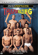 Trappboy leads the thugz who want to join this tough frat house in an initiation that leaves them sticky, hazed and dicked! Granting no quarter, everyone knows this is the toughest initiation on campus and only the bravest young thugz are willing to take their chances! They passed the SATS but can they pass the Trap test?