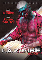 A lone creature (international adult star and metal, Francois Sagat) emerges from the depths of the Pacific Ocean. Possessing the ability to reanimate the dead through depraved acts of man-sex, our creature prowls the streets of Los Angeles looking for corpses to gorge his sexual thirst. A critically acclaimed movie on the festival circuit, LA Zombie is cinematic, erotic, and pushes the envelope of art, porn, and the zombie-horror genre.
