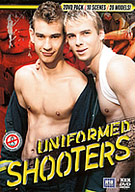 Nothing's sexier than a hot guy in uniform  except, perhaps, a hot guy out of his uniform! A fact that's only underlined in this double-disc, three hour epic, featuring the hunkiest, horniest collection of boys in their smartest apparel. From cops to prison officers, from guys in khaki to men in blue, these chaps are smooth and smart  but best of all, they're all as horny as fuck! As will you be once the uniforms start to come off...