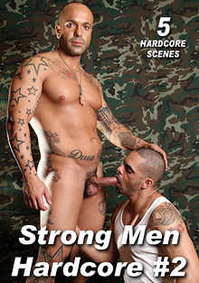 Strong Men Hardcore 2 cover