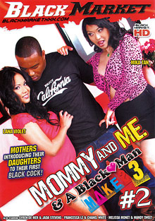 Interracial Porn : Mommy And Me And Black fuckers Makes 3 2!
