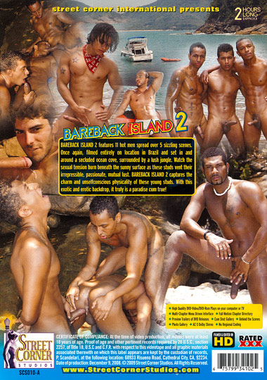 Bareback Island 2 Cover Back