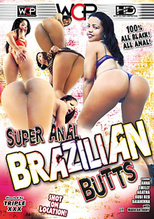 Super Anal Brazilian Butts cover