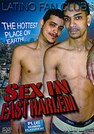 EAST HARLEM, or SPANISH HARLEM is one of the SEXIEST PLACES ON EARTH--and here's the DVD to prove it! It's the story of one horny, young ruffneck who's out to find the best cocksucker in the big city! What he finds with be more than he ever dreamed of! More than just the best blow-job he's ever had, new superstar Snoop Ghost takes you into his secret world of sexual delights!
