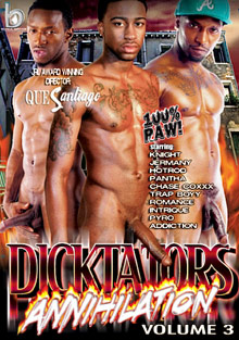 Dicktators 3: Annihilation cover