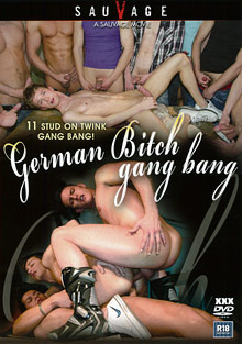 Gay Orgy GroupSex : German Bitch Gang Bang!