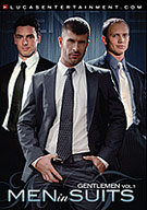 In the premiere of Lucas Entertainment's new series gentlemen we explored the slick look, the polished feel and the masculine smell and taste of an executive man dressed in a tailored suit. These commanding professionals are powerful, aggressive and fuck with a purpose. When the workday is over these bosses know how to play. Watch as the distinguished men show who is in charge as they suck, rim and fuck with authority!