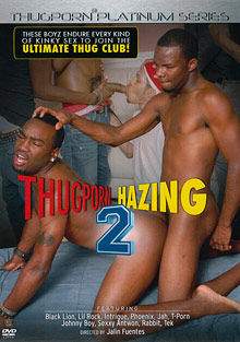 Gay Black Thugs : Thugporn Hazing 2!