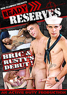 Gorgeous Bric is fresh out of the Navy and making his solo debut and sexy follow-up with Kai in this can't miss film! Also includes a new recruit Rusty in his first solo and divine three-way with returning hotties, hung Black and little Nick Gunner, where all three bottom!