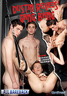Dustin has an insatiable hungry hole that gets its fill in this gangbang party. This DVD features our nastiest bareback boys including red hot newcomer Josh Bensan, the adorable bad boy Ace Lockheart and devilish hung hunks Wade Christianson and Adam Jacobs. But Revees' hole is not used and stretched by just our raw tops. His ass gets impaled by a power tool fuck machine, a scene that you don't wanna miss and a show that you won't soon forget.