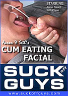 Starring Seth Chase and Aaron French. It's the hottest amateur cum eating video from SUCKoffGUYS!