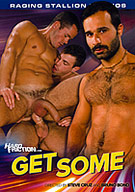 Delivering more of what dynamic duo Steve Cruz and Bruno Bond do best on the Hard Friction set, 'Get Some' brings the hottest guys together, gets their chemistry firing and lets you watch as their passion explodes! Eight incredibly sexy guys are paired up, showing off their amazing bodies, hot asses and big cocks. The sexual power is palpable as these guys get  and give  some serious kissing, sucking. rimming and fucking action. Every moment is captured up close, in person from the first kiss to every sticky finish. If hot, hung, sexy guys passionately fucking is your thing, then you better 'Get Some'!