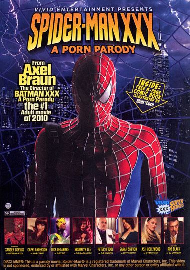 Spider-Man XXX A Porn Parody