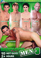 This is third installment of BadPuppy's Men Collection with 10 of the hottest solo scenes you have seen in a while, featuring Lucien Dickson, Drew Collins, Gaston, Zach Alexander, Sean Stavos, Shawn, Mike, Glen Woods and Nate Kennedy. With over two hours of rock hard cocks, you wont be disappointed!