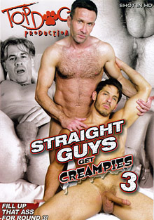 Straight Guys Get Creampies 3 cover