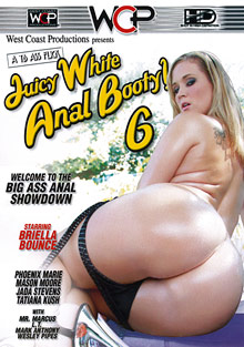Juicy White Anal Booty 6 cover