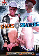 It's a question that's been concentrating the minds of philosophers for eons: Who's best? Chavs or Skaters? Well, now's the time for you to make up your own mind, as a collection of hard-nosed (not to mention hard-cocked!) Chavs hit upon a series of board-obsessed Skaterboys for a series of jizz-soaked encounters that'll have you tugging on your joystick time and time again. Classic Brit porn  whichever side of the youth divide you happen to fall!