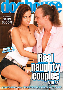 Real Naughty Couples 7 cover